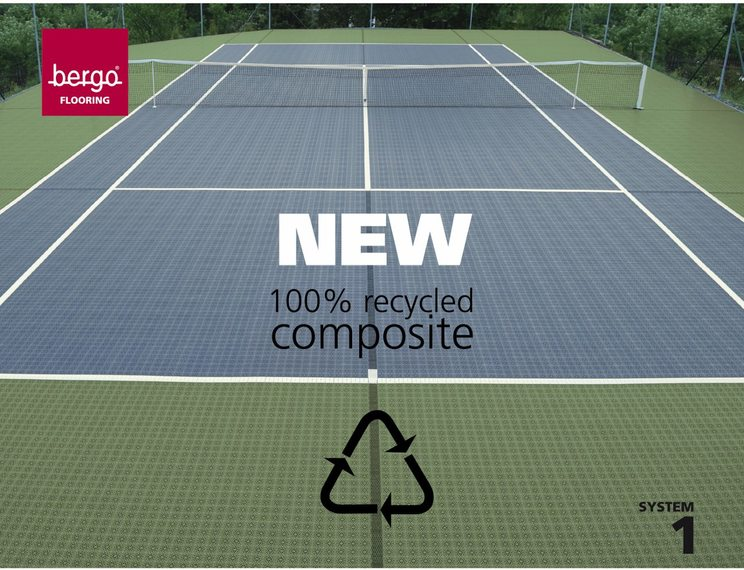 Neues ECO TENNIS Boden-System